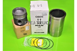 KIT, PISTON, ENGINE BUSHING, MAN, 51.02500-6356,51025006356