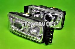 LAMPY LED+XENON, IVECO, 5801745441, 5801745442, KOMPLET, LEWA/PRAWA,