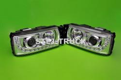 LAMPY LED+H7, IVECO, 5801745452, 5801745449, KOMPLET, LEWA/PRAWA,