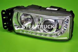 LAMPA, LED+H7, IVECO, 5801745449, LEWA,